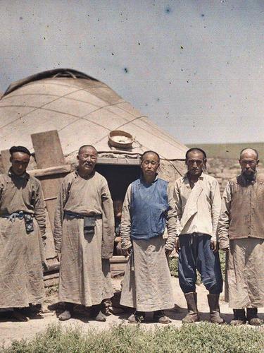 法国人拍100年前蒙古风貌[图集]