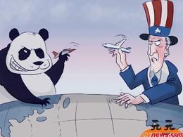 中美军机对峙戳痛了美国什么