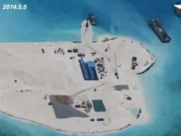 转战新岛礁 中国南沙造陆