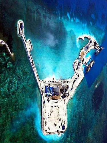 转战新岛礁<br>曝中国南沙造陆新进展[图集]