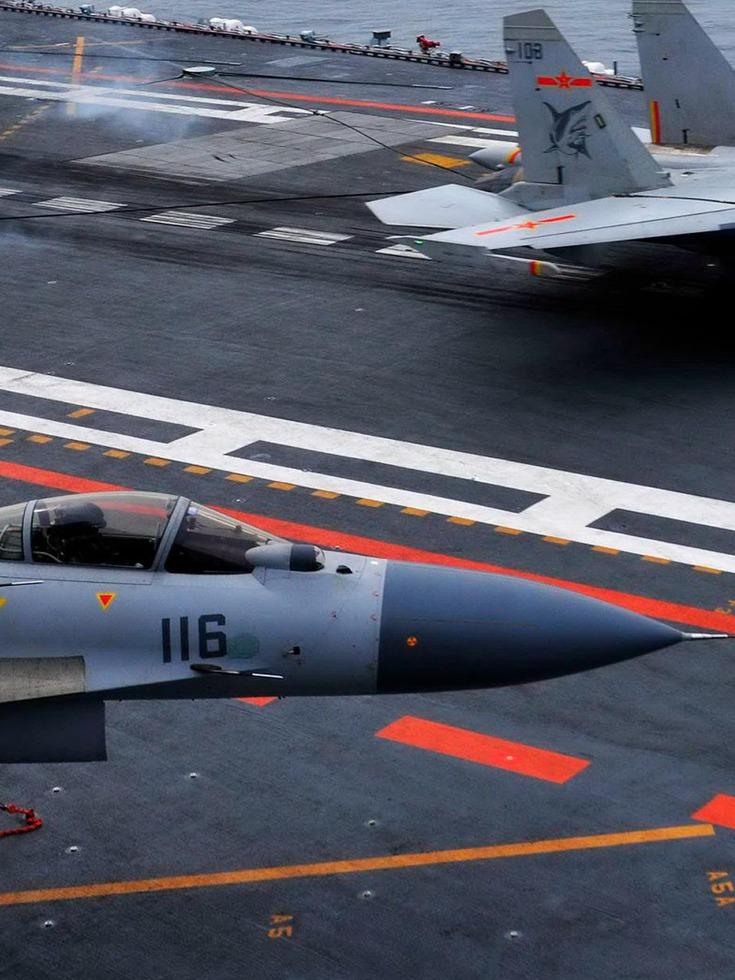 最新一艘部署辽宁舰<br>歼15到底服役了多少架
