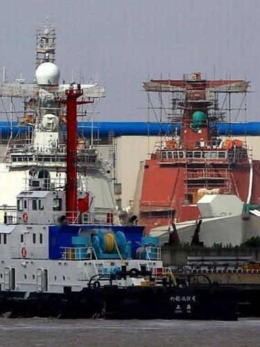 六大军工船厂发力<br>中国海军暴兵[图集]