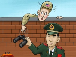 美军怀疑潜航器被动手脚 调查中国意图