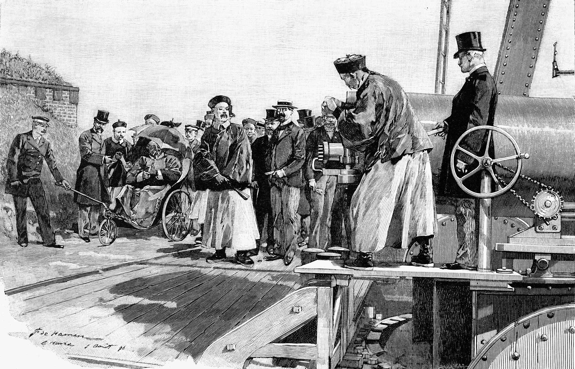 时任北洋大臣李鸿章,面对西方世界的坚船利炮,开始了中国近代在「器物」层面的现代化。