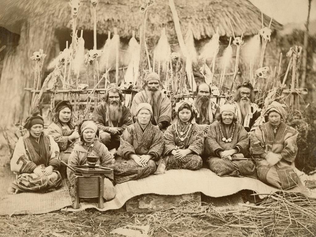 日本一个鲜为人知的原住民族 悲惨而神秘的阿伊努人[图集]